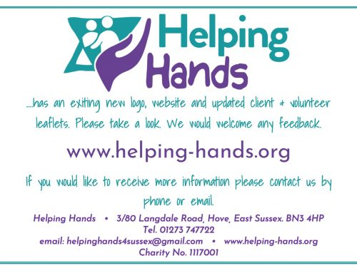 Helping Hands New Website