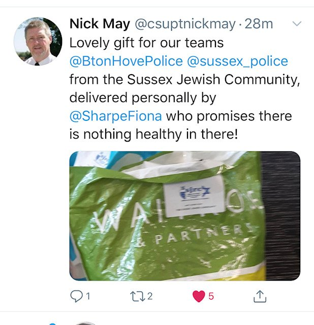 Thank you from Sussex Police