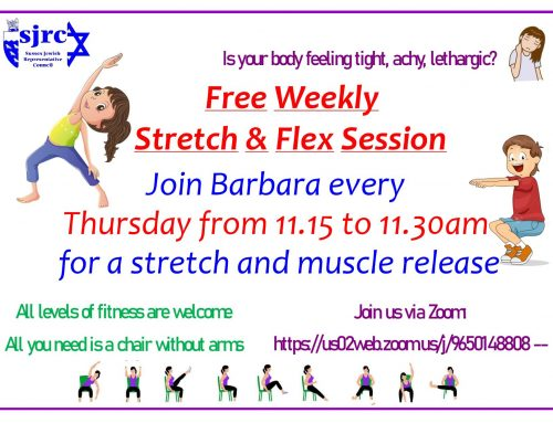 Weekly Stretch & Flex with Barbara