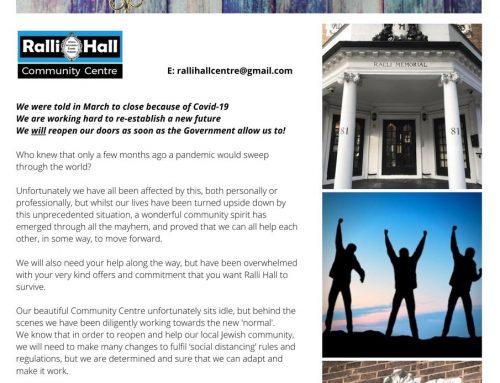 Ralli Hall Update