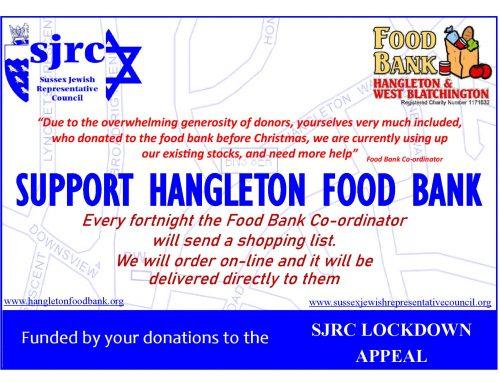 SJRC Lockdown Appeal: Food Bank