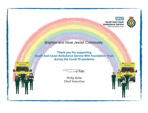 A  big 'thank you' from our ambulance service