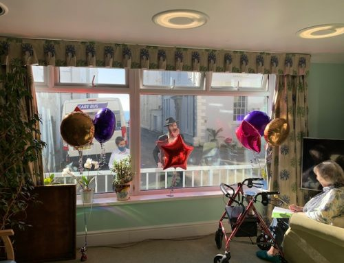 A big thank you to the rep council for the lovely bright balloons for Purim, very decorative and cheerful and just what we needed. We've had a lovely day, enjoying the sunshine the window Megillah reading and a zoom service.   Wishing you a happy Purim   Natasha