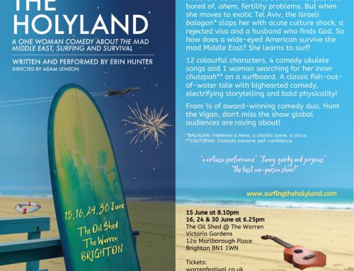 """""""Surfing the Holyland"""""""
