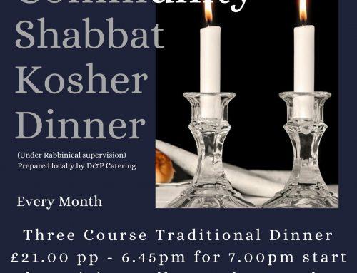 Communal Shabbat at Ralli Hall